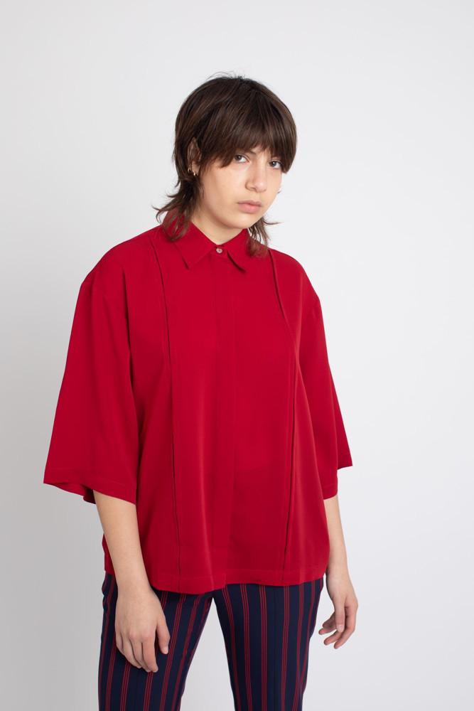 תמונה של חולצת SHILO אדומה