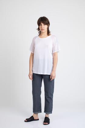 תמונה של חולצת TAYSON לבנה