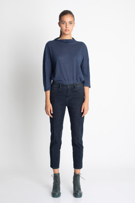 תמונה של חולצת TAZU כחולה