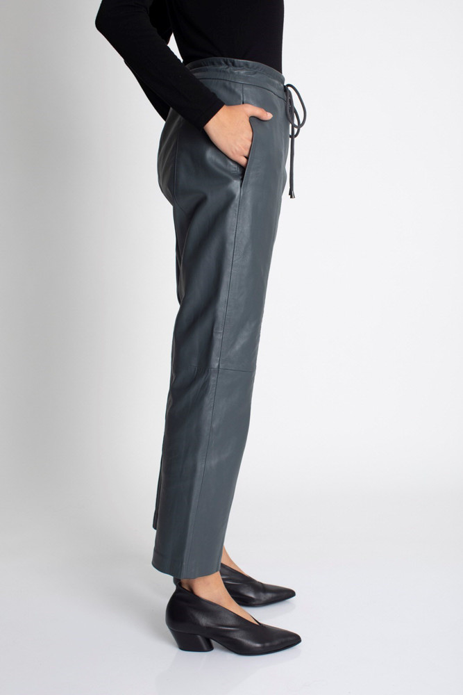 תמונה של מכנסי PATY ירוק כהה
