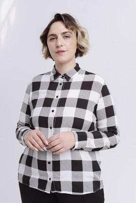 תמונה של חולצה סאלם משובצת