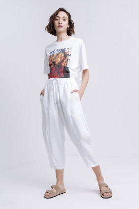 תמונה של POUL PANTS WHITE